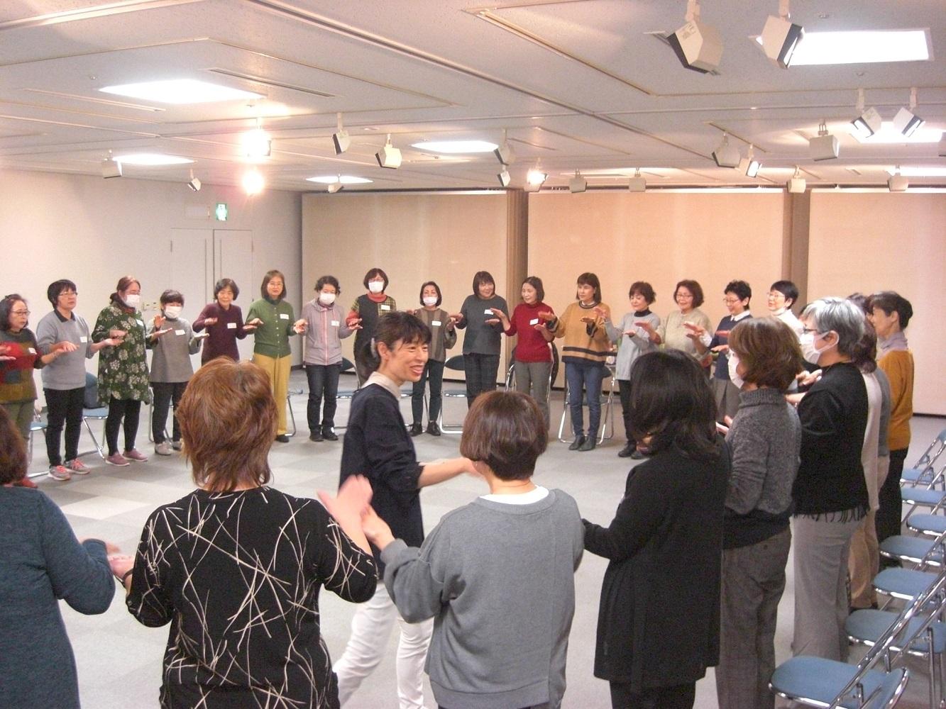 令和元年度第7回フォローアップ研修会「わらべうたで遊ぼう」を開催しました